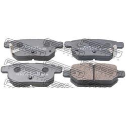 Колодки тормозные задние (Febest) 0101ZZE150R