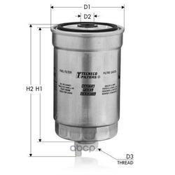 Топливный фильтр (Tecneco) GS8030
