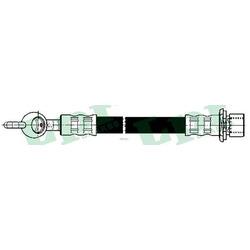 Тормозной шланг (Lpr/AP) 6T48251