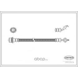 Тормозной шланг (CORTECO) 19033076