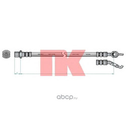 Шланг тормозной (Nk) 8545150