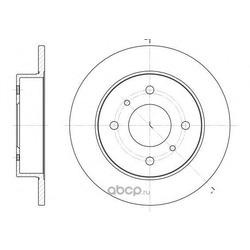 Тормозной диск (Remsa) 620000