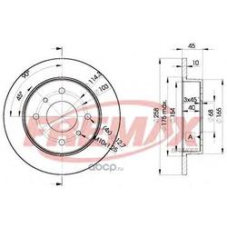 Тормозной диск (FREMAX) BD9901