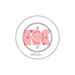 Диск тормозной задний (Nk) 202229