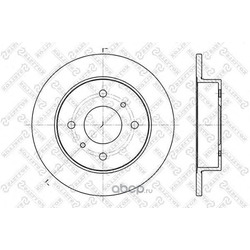 Тормозной диск (STELLOX) 60202229SX