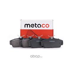 Колодки тормозные передние (комплект) (METACO) 3000067
