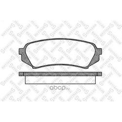 Комплект тормозных колодок (STELLOX) 715010BSX
