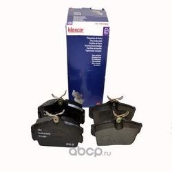 Комплект тормозных колодок, дисковый тормоз (Klaxcar) 24855Z