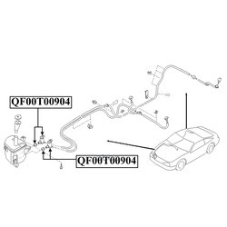 Моторчик омывателя (QUATTRO FRENI) QF00T00904
