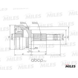 Шру наружный (abs) (Miles) GA20336