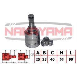 Шрус внутренний, комплект (Nakayama) NJ7168NY