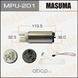 Насос топливный (MASUMA) MPU201