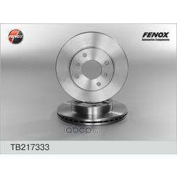 Диск тормозной (Fenox) TB217333