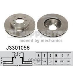 Тормозной диск (Nipparts) J3301056