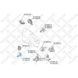 Подвеска, двигатель (STELLOX) 2519667SX