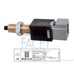 Выключатель фонаря сигнала торможения (Facet) 71304