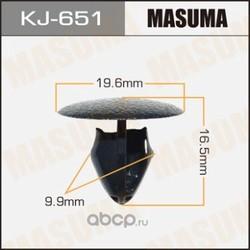 Клипсы (пластиковая крепежная деталь) (MASUMA) KJ651