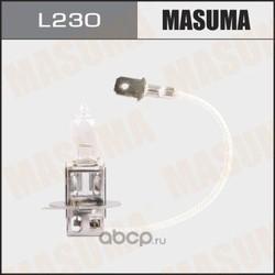 Лампа галогенная h3 12v 55w (MASUMA) L230
