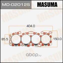 Прокладка гбц (MASUMA) MD02012S