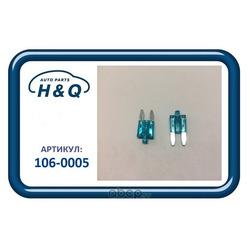 Предохранитель флажковый mini 15a (H&Q) 1060005