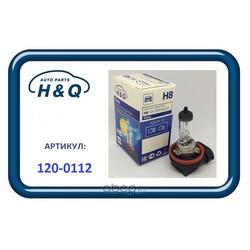 Лампа h8 (H&Q) 1200112