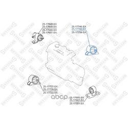 Подушка двс задняя (STELLOX) 2517760SX