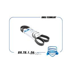 Ремень поликлиновый (BRAVE) BRTB136