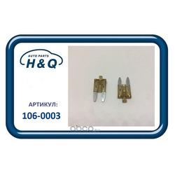 Предохранитель флажковый mini 7, 5a с индикатором (H&Q) 1060003
