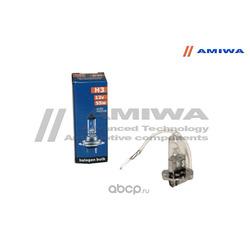 Лампа накаливания, ineo h3 12в 55вт (AMIWA) AMWH31255