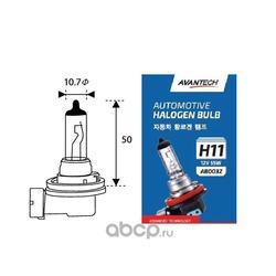 Лампа головного света avantech h11 12v 55w (AVANTECH) AB0032