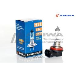 """Лампа накаливания, """"ineo h11"""" 12в 55вт (AMIWA) AMWH111255"""