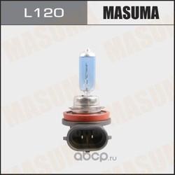 Лампа высокотемпературная h11 12v 55w blue (MASUMA) L120