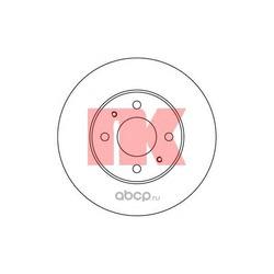 Диск тормозной передний вентилируемый (Nk) 202245