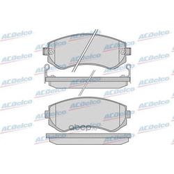 Комплект тормозных колодок, дисковый тормоз (ACDelco) AC058856D