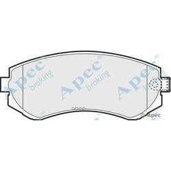 Комплект тормозных колодок (APEC braking) PAD1147