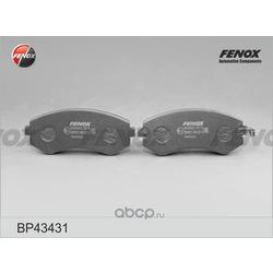 Колодки тормозные дисковые (Fenox) BP43431