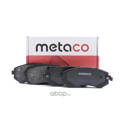 Колодки тормозные передние (комплект) (METACO) 3000176