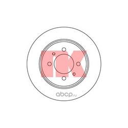 Тормозной диск задний [258x9] 4 отверстия (Nk) 202263