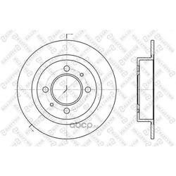 Диск тормозной задний (STELLOX) 60202246SX