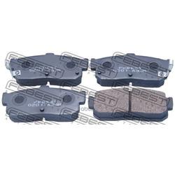 Колодки тормозные задние (Febest) 0201A33R