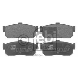 Набор тормозных накладок (FEBI) 16271