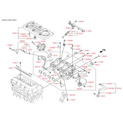Привод впускного коллектора (Hyundai-KIA) 283232GGA1
