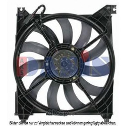 Вентилятор, охлаждение двигателя (AKS DASIS) 568016N