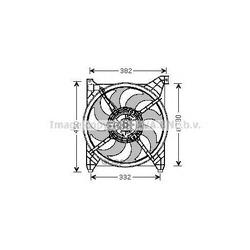 Вентилятор, охлаждение двигателя (Prasco) HY7505