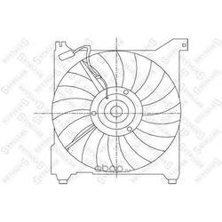 Вентилятор (STELLOX) 2999196SX