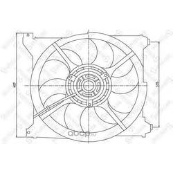 Вентилятор (STELLOX) 2999465SX