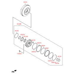 Гидротрансформатор акпп (Hyundai-KIA) 4510026410