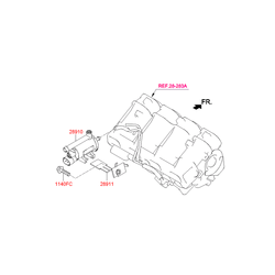 Клапан электромагнитный (Hyundai-KIA) 2891025100