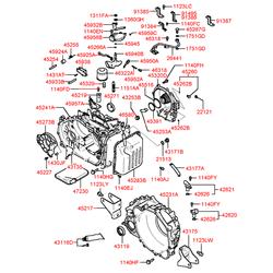Датчик АКПП (Hyundai-KIA) 4262139050