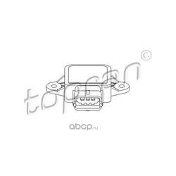 Датчик, положение дроссельной заслонки (topran) 206176